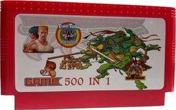 Pegasus Gry 500w1 do konsoli pegasus 8 Bit Kartridż