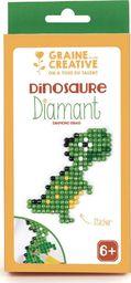Graine Creative Naklejka Diamentowa Mozaika Dinozaur