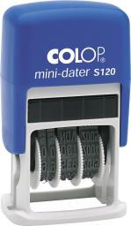 Colop Datownik samotuszujący MINI LINE S120 4mm