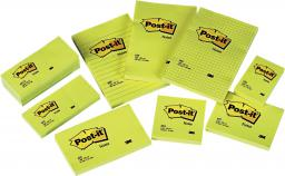 Blok biurowy Post-it Bloczek samoprzylepny 102x152/100K żółty (FT510010620)