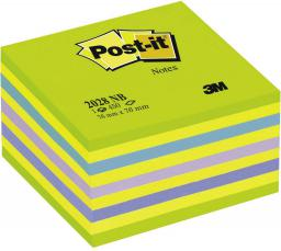 Blok biurowy Post-it Bloczek samoprzylepny 76x76/450K niebiesko/zielony (FT510093253)