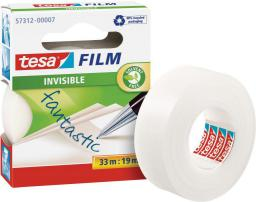 Tesa Taśma biurowa tesafilm® invisible 33m x 19mm (57312-00007-02)