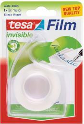 Tesa Taśma biurowa tesafilm® invisible 33m x 19mm + dyspenser Easy Cut (57414-00005-02)