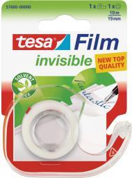 Tesa Taśma biurowa tesafilm® invisible 10m x 19mm + dyspenser (57660-00000-01)
