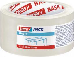 Tesa Taśma pakowa tesa® BASIC 66m x 50mm, przezroczysta (58570-00000-00)