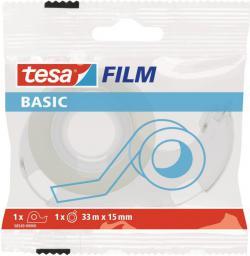Tesa Taśma biurowa tesafilm® BASIC 33m x 15mm + dyspenser (58549-00000-00)