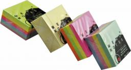 Blok biurowy Dalpo Notesy samoprzylepne kostka 50x50mm żółta