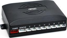 Hoalte Czujnik parkowania, 8 sensorów czarnych fi 22mm, wyświetlacz z sygnałem dźwiękowym uniwersalny