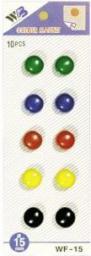 Flipchart Wallner - Argo Klips magnetyczny WF-15  10szt. mix kolorów