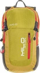 Milo Plecak turystyczny Puyo 20 lime green/deep red