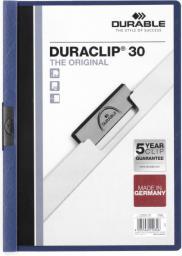 Durable Skoroszyt Zaciskowy A4 / 30 kartek Granatowy