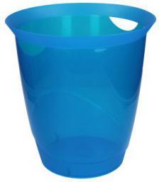 Kosz na śmieci Durable Trend 16L niebieski przezroczysty (1701710540)
