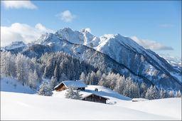 AC Fototapeta Zima w Górach flizelina 130g 90x60