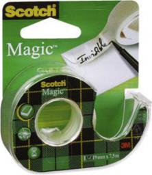 Scotch Taśma klejąca 19mm 7.5m mleczna (SC1002)