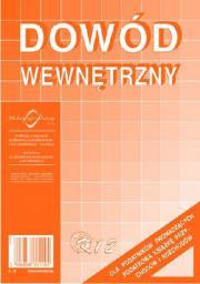 Michalczyk & Prokop Dowód wewnętrzny A5 40 kartek (K12)