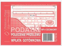Michalczyk & Prokop Polecenie przelewu 4 odcinkowe A6 80 kartek (476-5)