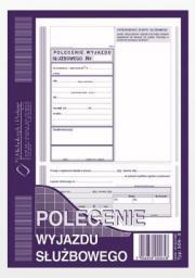 Michalczyk & Prokop Polecenie wyjazdu służbowego A5 40 kartek (505-3)
