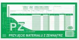 Michalczyk & Prokop Przyjęcie materiału z zewnątrz 1/3 A3 (362-2)