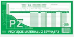 Michalczyk & Prokop Przyjęcie materiału z zewnątrz 1/3 A3 80 kartek (352-8)