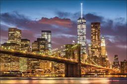 AC Fototapeta Nowy Jork Nocą flizelina 130g 90x60
