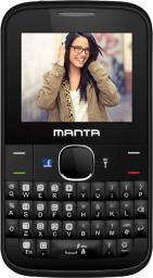 Telefon komórkowy Manta QWERTY czarny  (TEL2201)