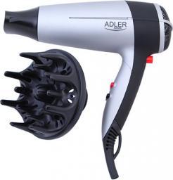 Suszarka do włosów Adler AD 2239 Srebrno-czarna