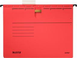 Leitz Skoroszyt zawieszany Alpha, A4, czerwony (19840025)