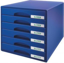 Leitz Pojemnik 6 szuflad PLUS niebieski (52120035)