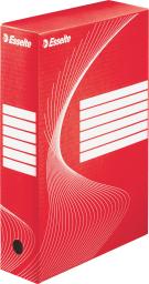 Esselte Pojemnik archiwizacyjny 245x80x345mm czerwony (128412)