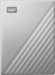 Dysk zewnętrzny Western Digital HDD My Passport for Mac 5 TB Srebrny (WDBPMV0050BSL-WESN)