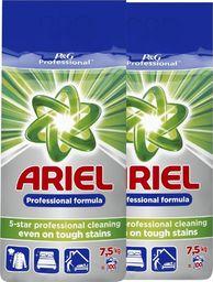 Ariel Zestaw - 2 x ARIEL Proszek do prania Regular 7,5kg