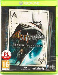 Batman Return To Arkham PL [Xbox One]