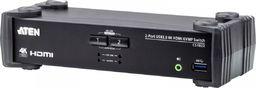 Przełącznik Aten Przełącznik KVMP USB 3.0 4K HDMI CS1822-AT-G