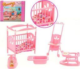 EduCORE pokój dziecka łóżeczko mebelki Barbie