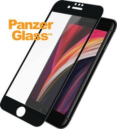 PanzerGlass Szkło hartowane do iPhone 6 / 6s / 7 / 8 / SE (2020) Case Friendly Black (2679)