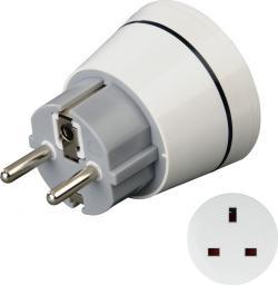 Hama Adapter podróżny biały  (001219910000)