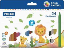 Milan Kredki świecowe Plastipastel 24 kolory (381917)