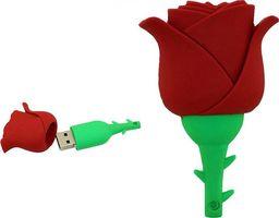 Pendrive Dr. Memory PENDRIVE RÓŻA KWIATEK FLASH USB Flash Pamięć 32GB uniwersalny