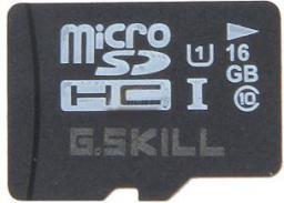 Karta G.Skill MicroSDHC 16 GB Class 10 UHS-I/U1  (FF-TSDG16GN-C10)