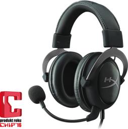 Słuchawki HyperX Cloud II Gun Metal Grey 7.1 (KHX-HSCP-GM)