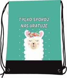 Mesio.pl Worek szkolny plecak WR1052 Lama MESIO