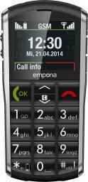 Telefon komórkowy Emporia Pure V25 Czarny