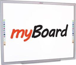 System interaktywny myBoard MyBoard 84S lakierowan 4:3 10-touch, multi gest