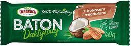 Targroch TG - Baton daktylowy z kokosem i migdałami 40g