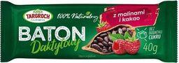 Targroch TG - Baton daktylowy z malinami i kakao 40g