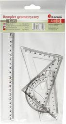 Titanum Komplet geometryczny 4 elementy 20cm