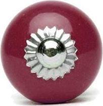 Knaufmanufaktur BORDOWA GŁADKA (mała) - ceramiczna gałka do mebli
