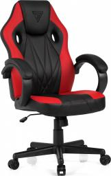 Fotel SENSE7 Prism czarno-czerwony