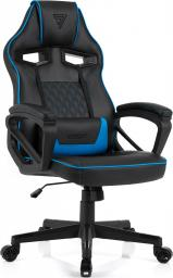 Fotel SENSE7 Knight czarno-niebieski