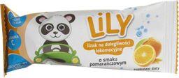Lily Lily lizak na dolegliwości lokomocyjne o smaku pomarańczowy - 8 g
